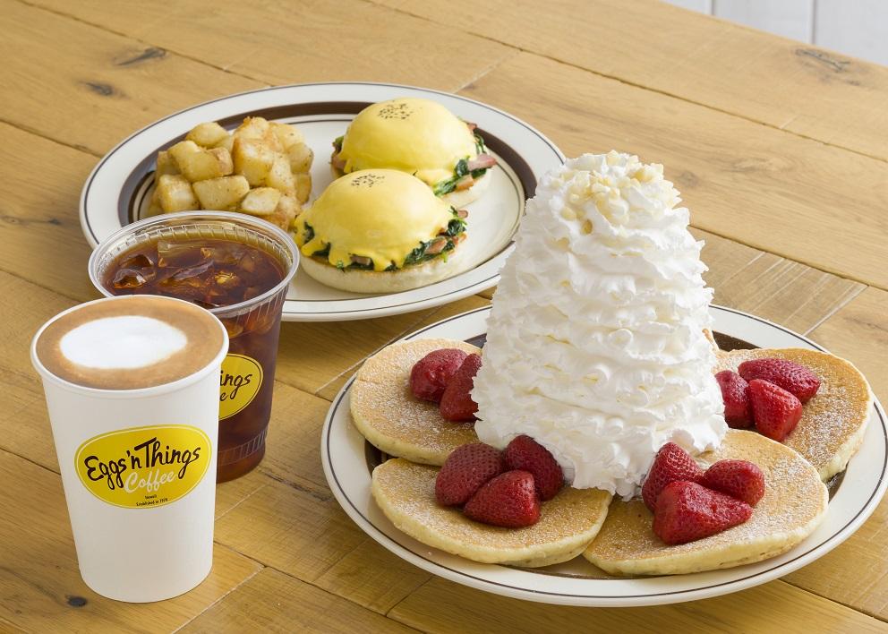 Eggs 'n Things Coffee メニュー