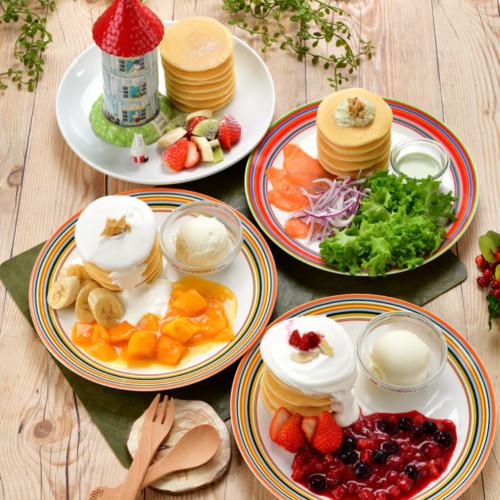 ムーミンカフェ「PANNUKAKKU たべよう、パンケーキフェア」