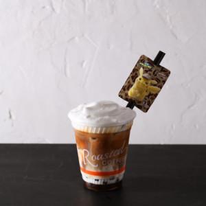 Roasted COFFEE LABORATORY×名探偵ピカチュウ タピオカミルクコーヒー