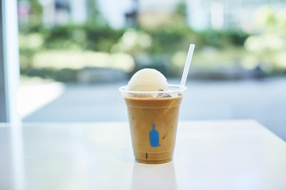 ブルーボトルコーヒー×HiO ICE CREAM ノラフロート