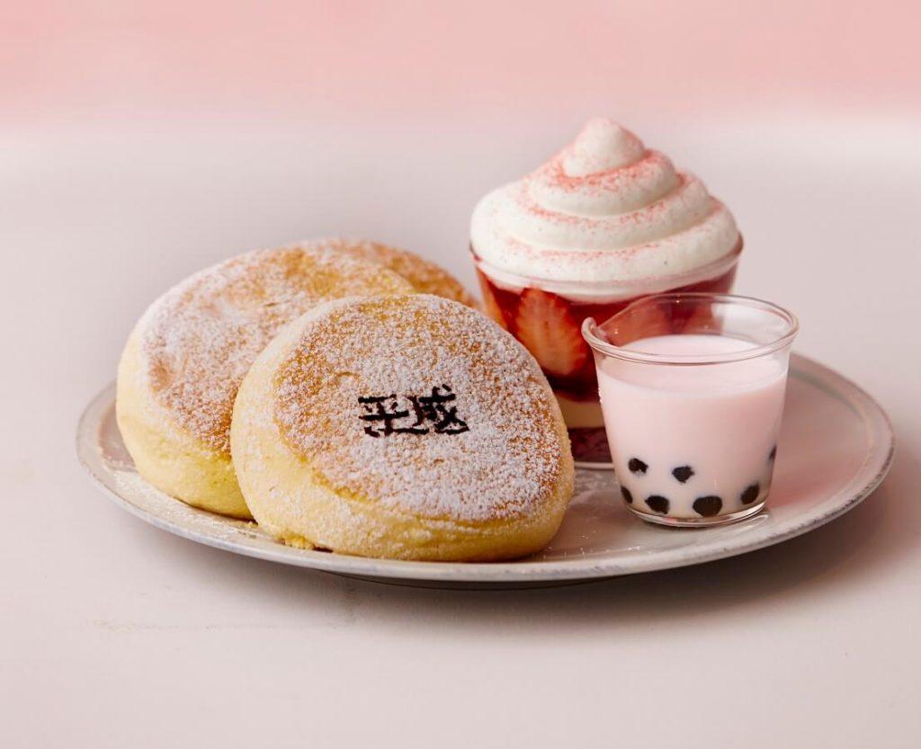 FLIPPER'S 平成最後の奇跡のパンケーキ いちごティラミス