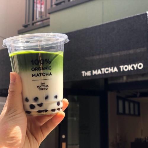 THE MATCHA TOKYO表参道 抹茶タピオカラテ