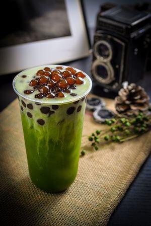 台楽茶 宇治抹茶タピオカミルク