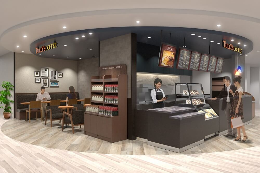 タリーズコーヒー サンシャインサンシャイン60展望台店