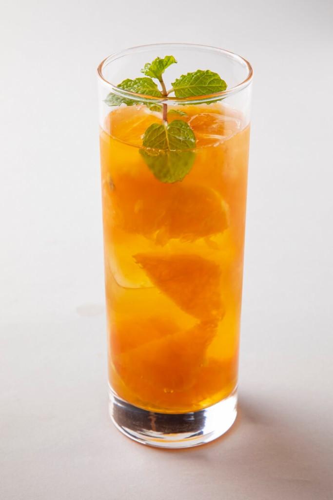 氷砂糖でフルーツビネガーカフェ  フルーツビネガーソーダ