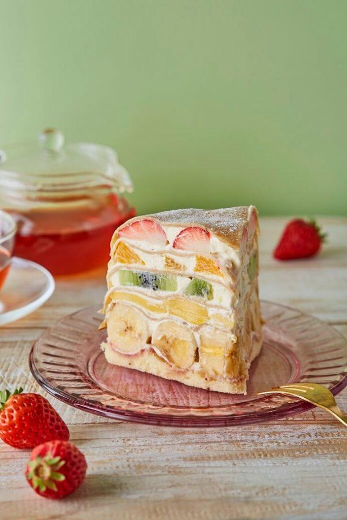 【Afternoon Tea】フルーツをたっぷり味わえる新作スペシャルメニュー フルーツフルーツ ミルクレープセット