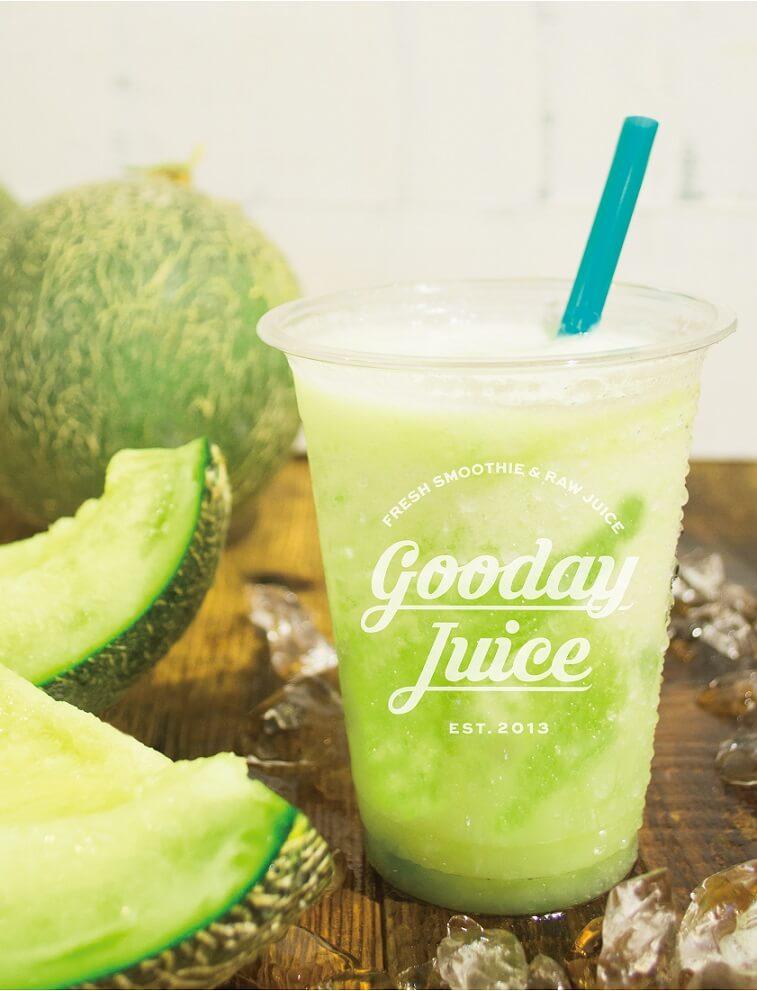 Gooday Juiceつぶつぶメロンシェイク