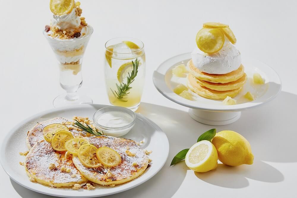 J.S. PANCAKE CAFE「Lemon State of Mind-レモンの気分-」フェア