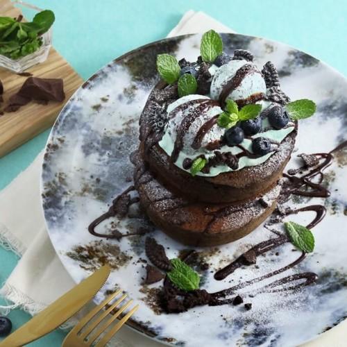 MARFA CAFE(マーファカフェ)初夏の新作メニューチョコミントパンケーキ