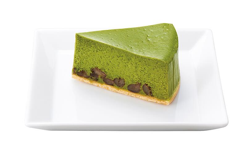 ナナズグリーンティー 抹茶と大納言あずきのチーズケーキ