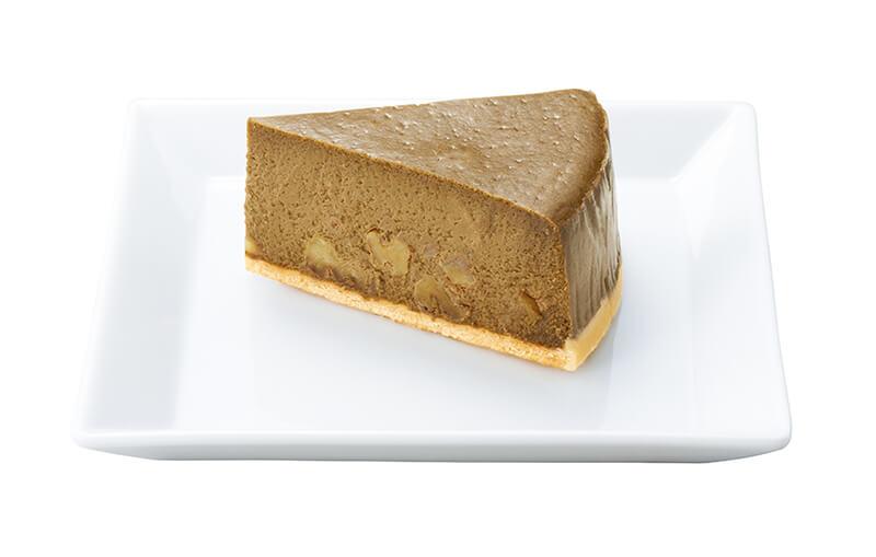 ナナズグリーンティー ほうじ茶とくるみのチーズケーキ