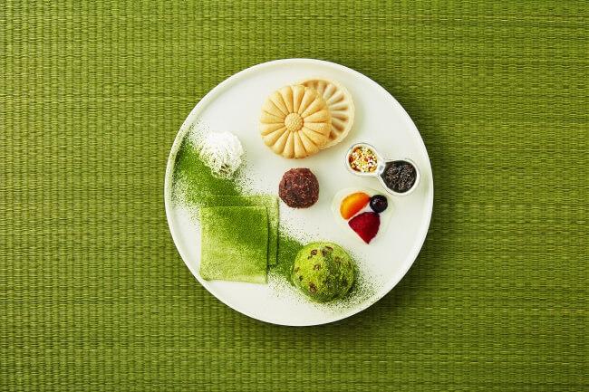 #抹茶パルコ メニュー 蜜と雪×練乳フルーツ
