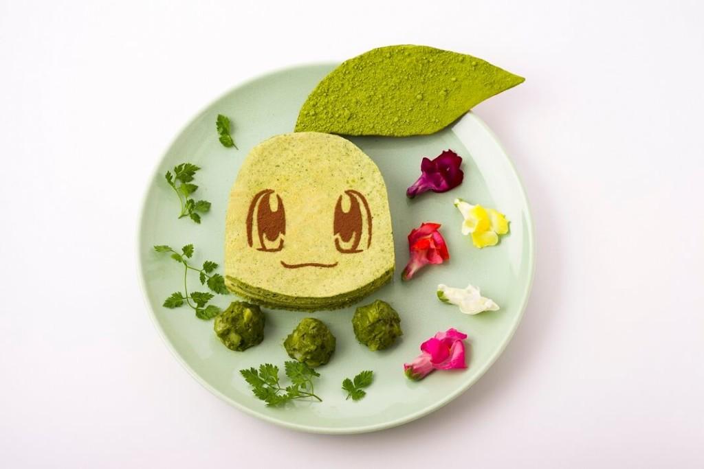 チコリータのグリーンパンケーキサンド