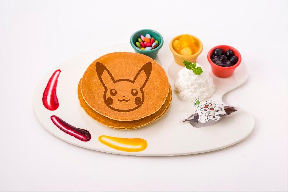 ドーブルのお絵かきパンケーキ