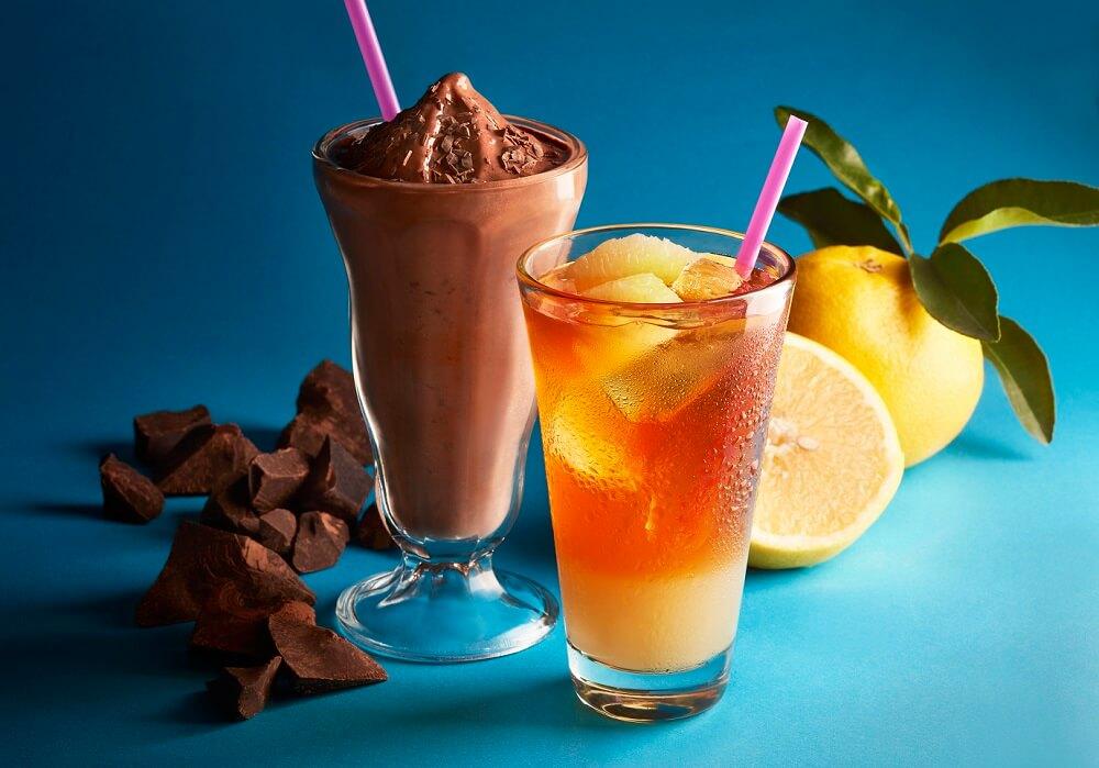 タリーズコーヒー 新作『チョコリスタ(R)(SHAKE)』『&TEA グレープフルーツセパレートティー』