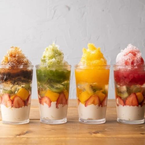 atari CAFE&DINING 池袋PARCO店 フルーツタピ氷