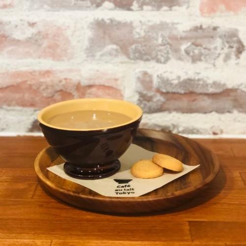 """カフェオレ専門店 """"Cafe au lait TOKYO"""" ホットカフェオレ"""