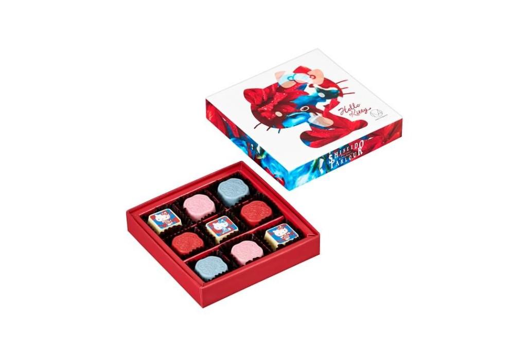 資生堂パーラー  ハローキティ M / mika ninagawaコラボ チョコレート