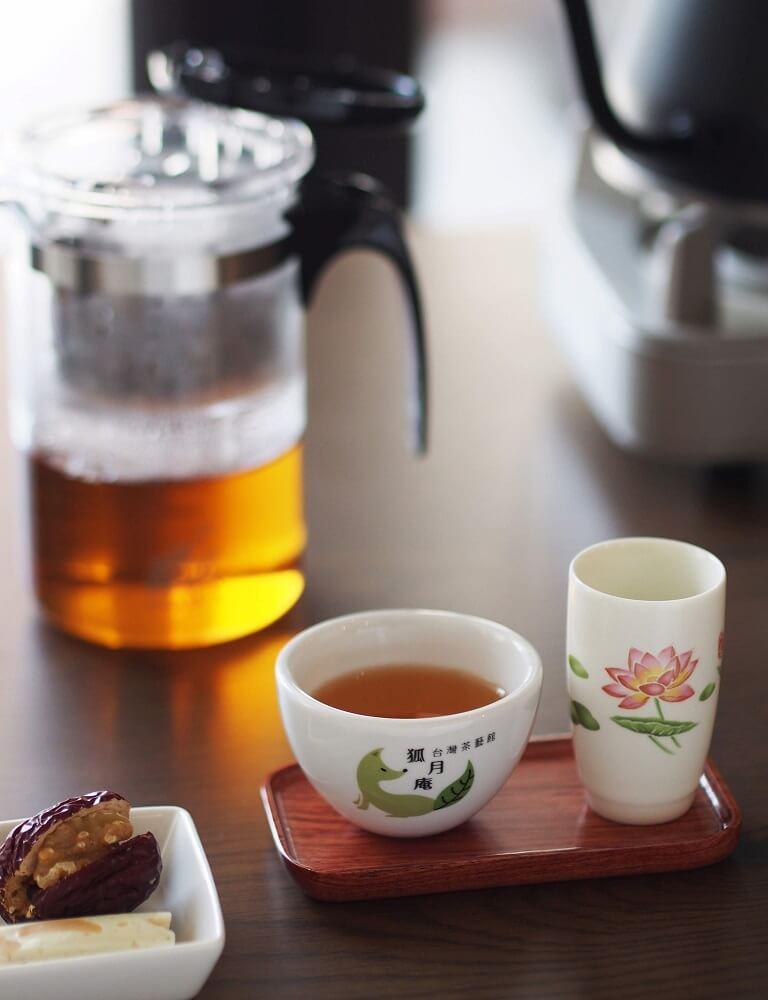 台湾茶カフェ「狐月庵」おすすめメニュー 台湾茶