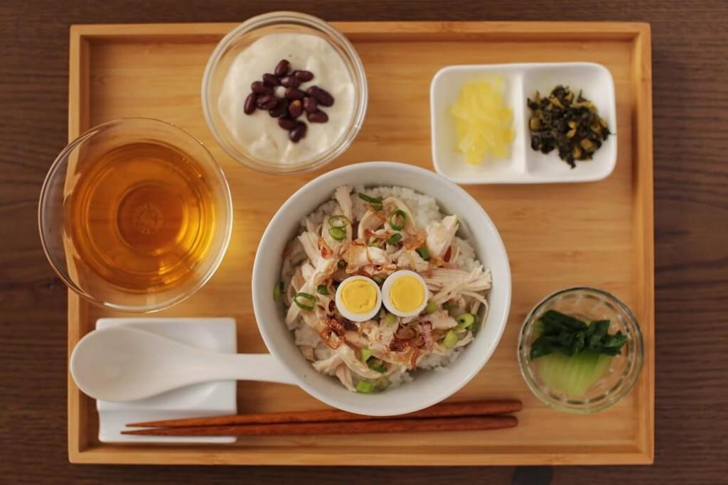 台湾茶カフェ「狐月庵」おすすめメニュー ジーローハン