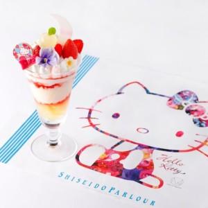 資生堂パーラー でハローキティ、M / mika ninagawaとのコラボパフェ登場!オリジナルランチョンマップ付き