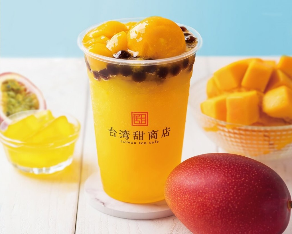 台湾甜商店 新作メニュー 「情熱芒果スムージー」