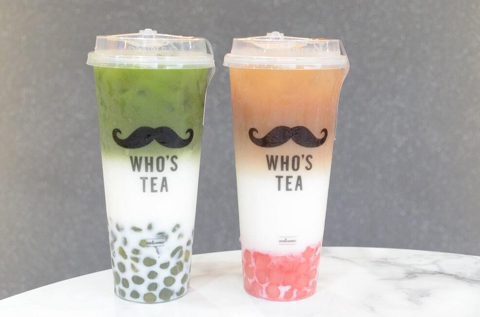 WHO'S TEA メニュー 抹茶ミルク