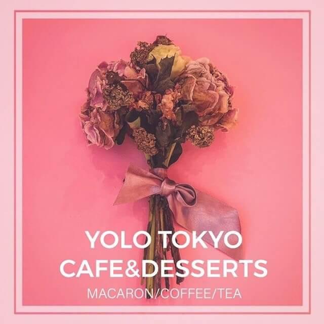 YOLO TOKYO cafe&desserts ロゴ