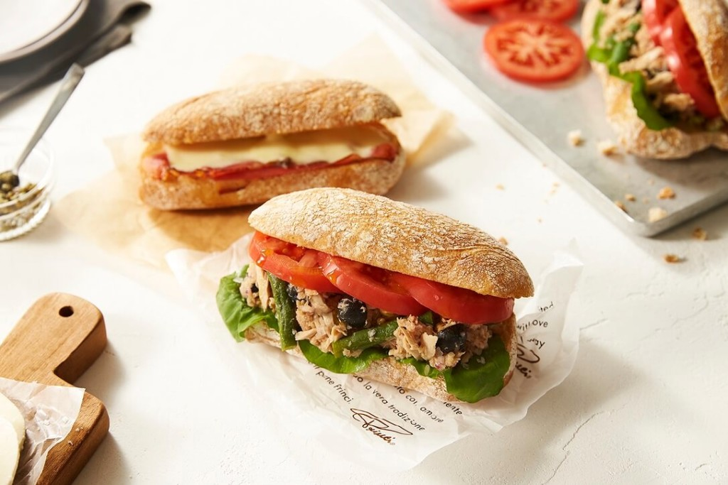 「プリンチ 代官山T-SITE」 メニュー サンドイッチ