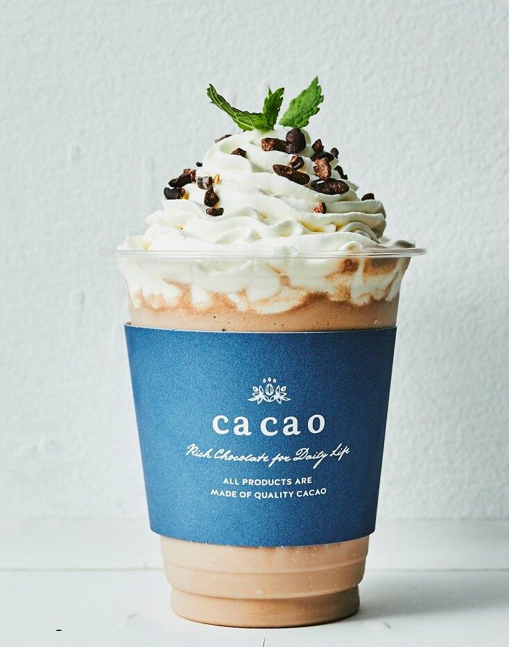 cacao 生チョコっぺ チョコミント