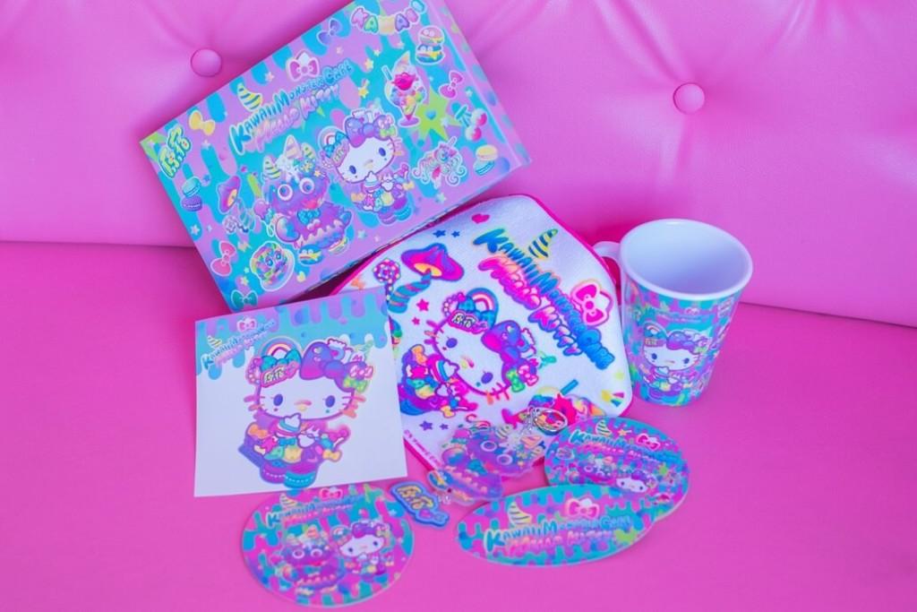 「ハローキティ」×「KAWAII MONSTER CAFE」コラボカフェ グッズ