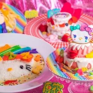 「ハローキティ」×「KAWAII MONSTER CAFE」夢のコラボレーション!KAWAIIカルチャーと融合したデコラティブな''ハローキティ''が完成