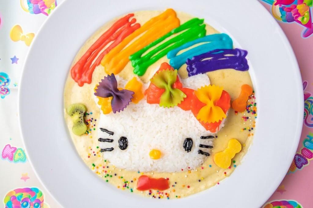 「ハローキティ」×「KAWAII MONSTER CAFE」コラボカフェ メニュー