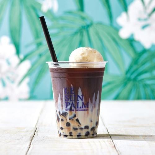 LE SUN PALM(ルサンパーム) 「タピオカフロート ミルクコーヒージェリー」