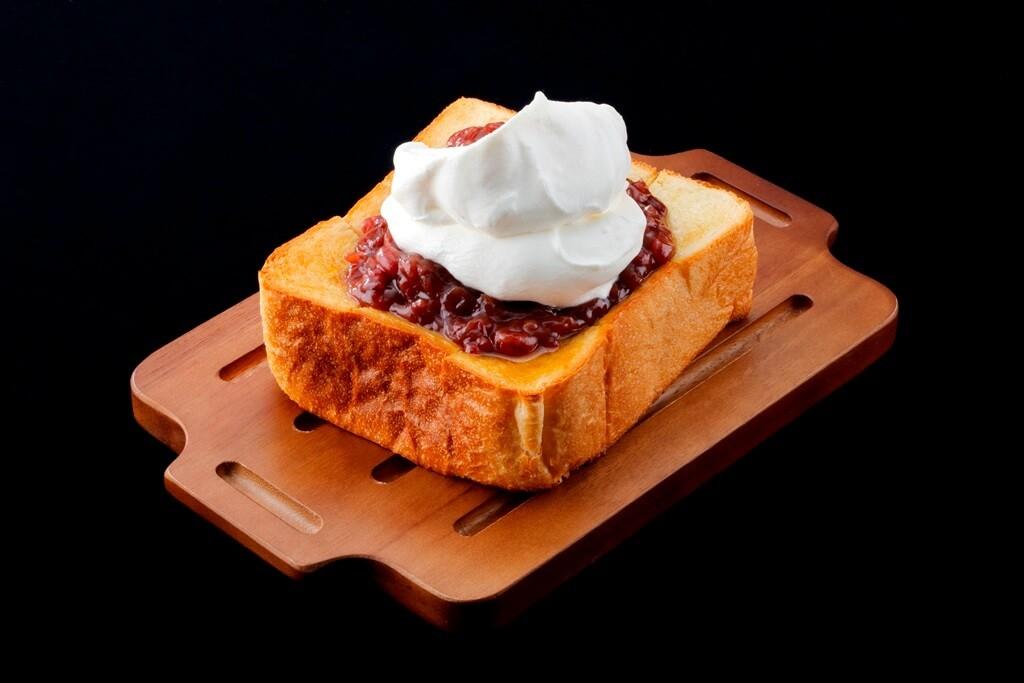 MILKLAND HOKKAIDO → TOKYO 新メニュー 生クリームたっぷりのあずきバタートースト