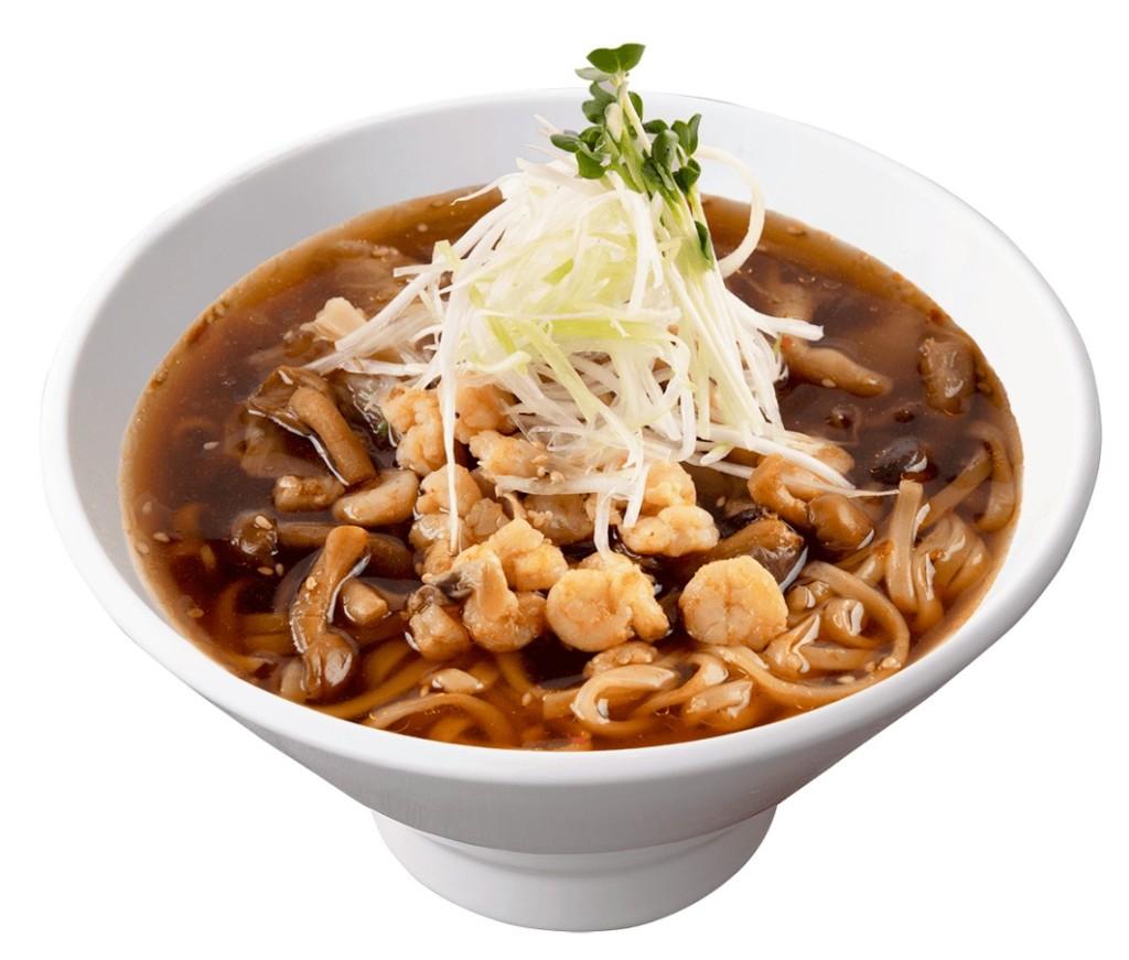 春水堂 海老ときのこの台湾湯麺