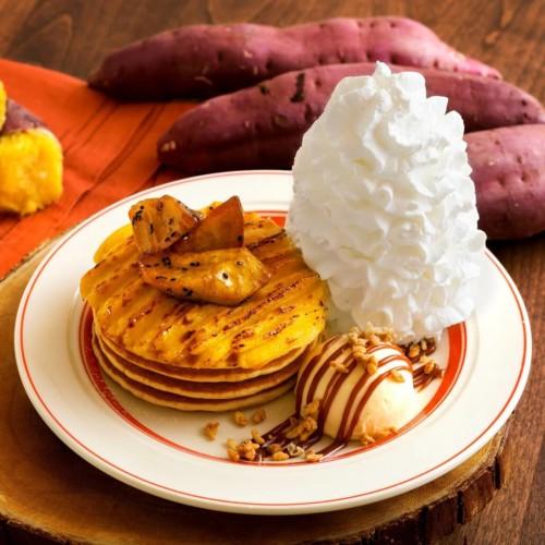 エッグスンシングス スイートポテトパンケーキ