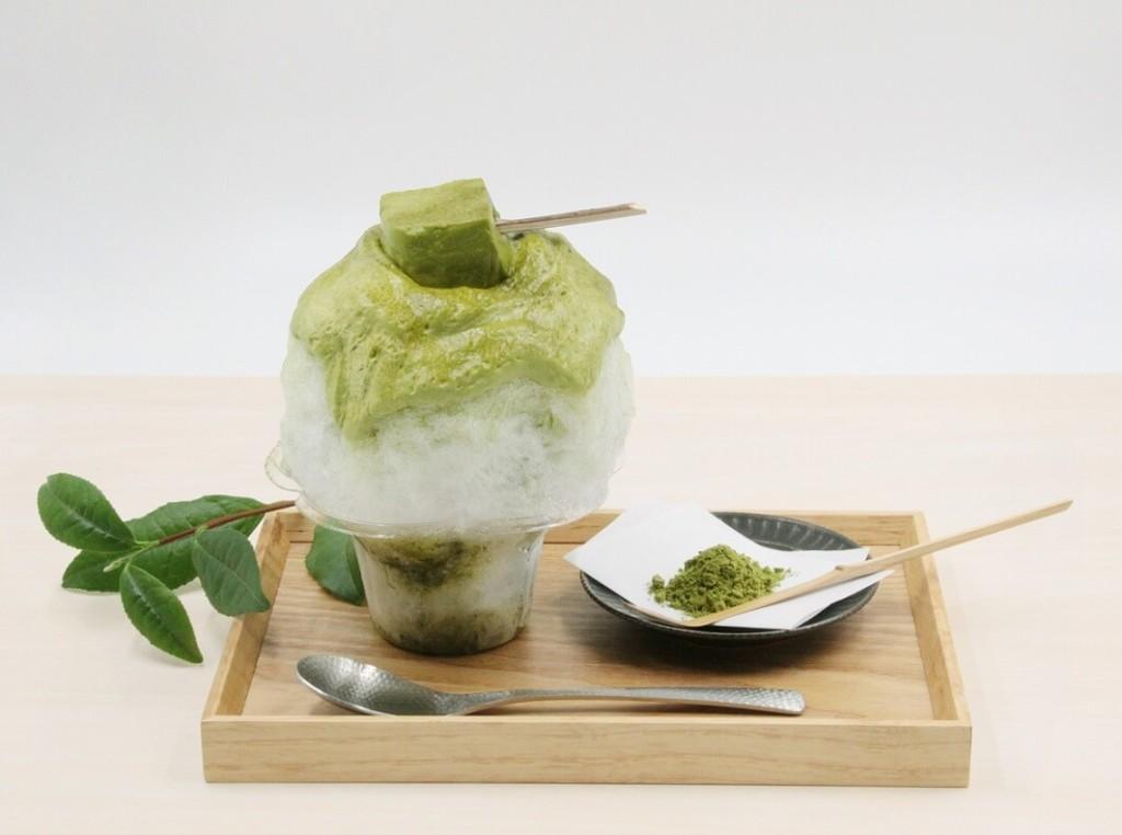 八屋 「煎茶エスプーマのかき氷」