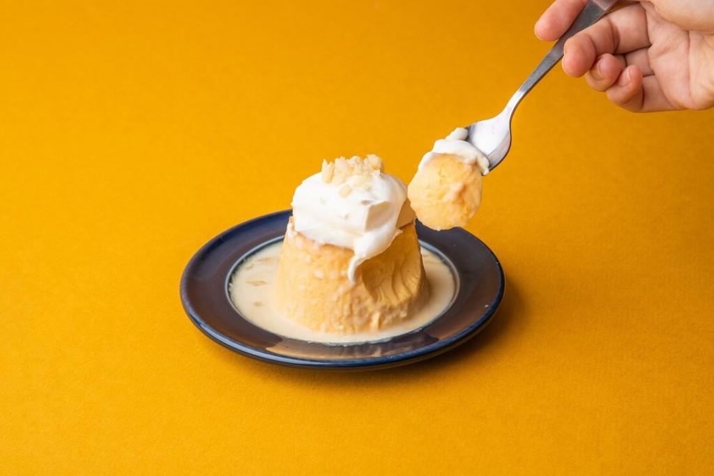 hole hole cafe&diner 「Hawaiian × Classic Pudding」 「-Macadamia Nuts-」