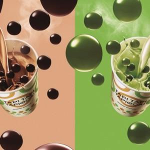 【ミスド】好評発売中のタピオカドリンクにホットが登場!ミルクティ&抹茶ミルク