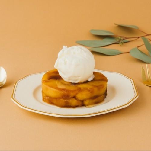 ヒオアイスクリーム 「キャラメルリンゴサンデー」