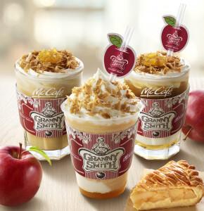 グラニースミス アップルパイ アンド コーヒーがマックカフェとコラボ!アップルパイをイメージした限定ドリンクを発売