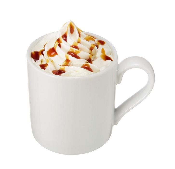 カフェベローチェ プリンフェア プリンホットミルク