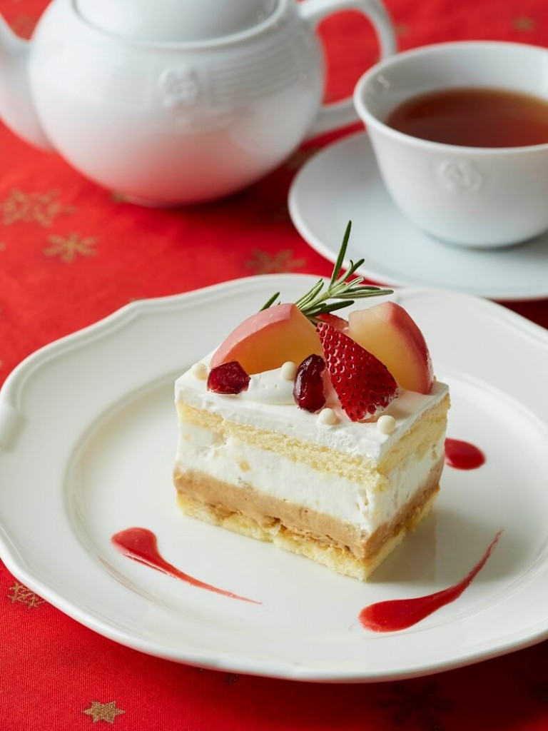 林檎のショートケーキ