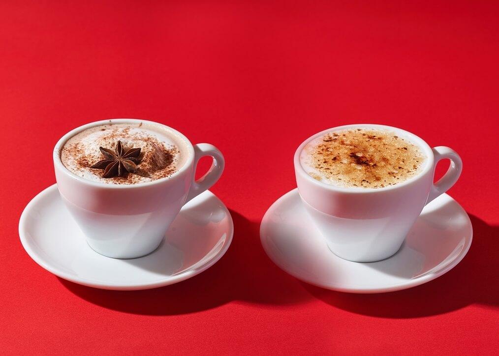 カフェ&ブックス ビブリオテーク クリスマスドリンク