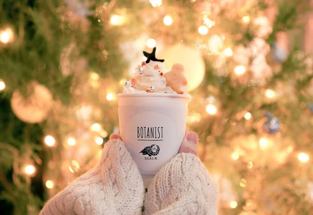BOTANIST cafe  ホリデーホットチョコレート