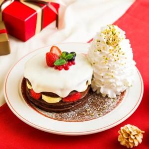 エッグスンシングス 2019クリスマスパンケーキ