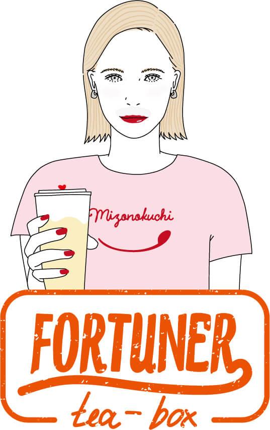 FORTUNER tea-box キャラクター