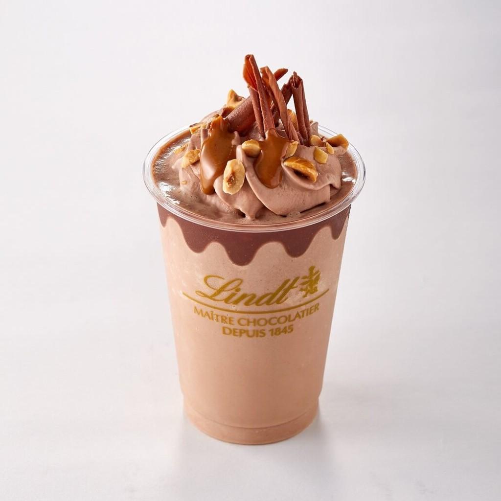 リンツ アイスチョコレートドリンク ジャンドゥーヤ