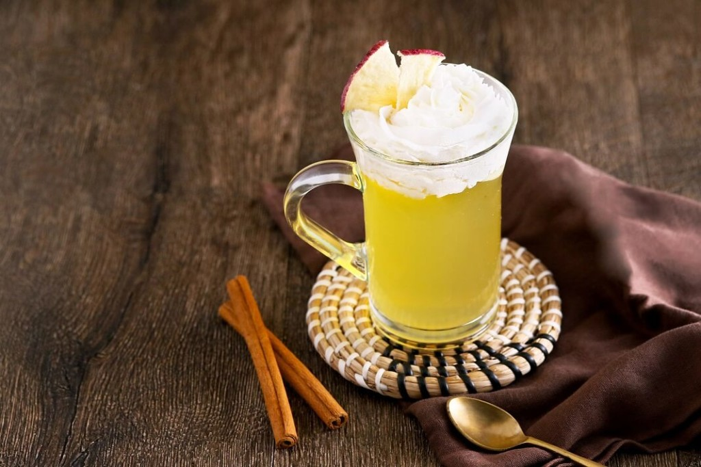 MARFA CAFE ホットアップルシナモン